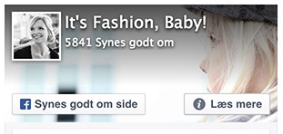 Følg Its Fashion Baby på Facebook