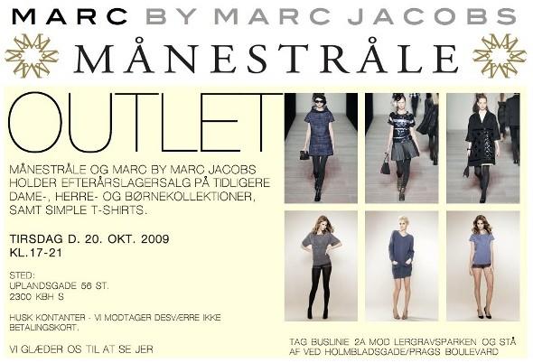 Marc by Marc Jacobs og Månestråle lagersalg f7b933845213