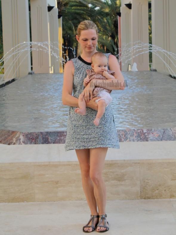 matchende tøj til mor og baby