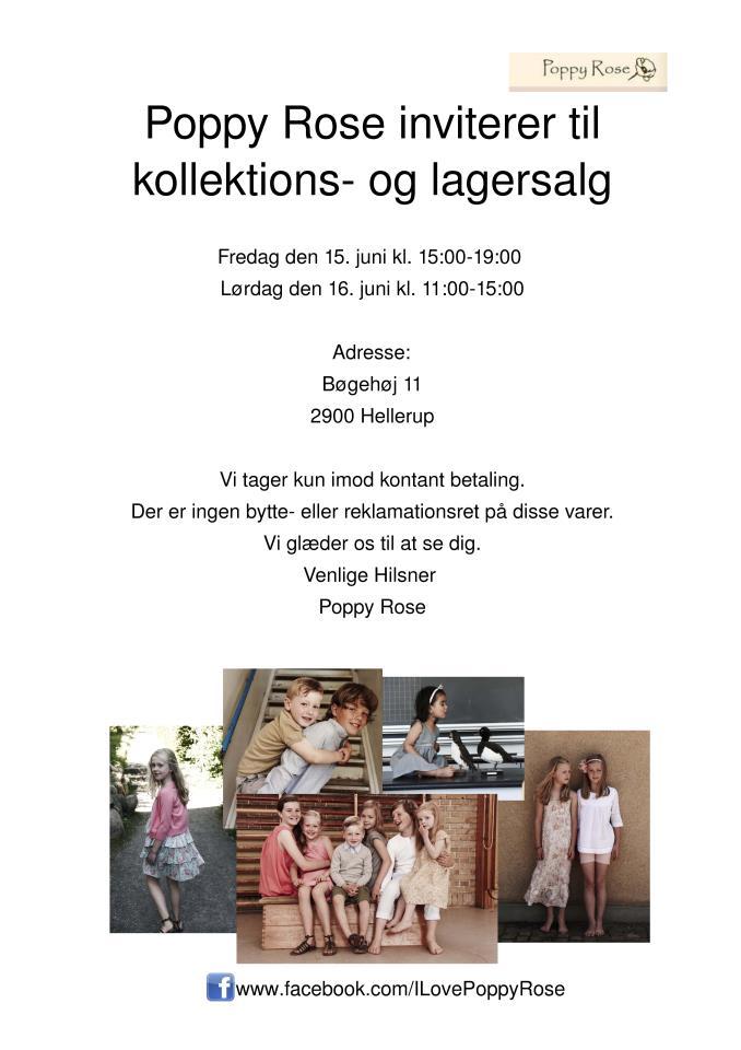 c5d403e8308 Poppy Rose Lagersalg i København - It's Fashion, Baby!