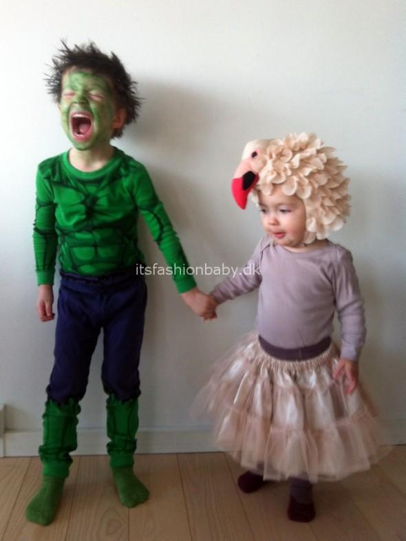 Udklædning til Halloween for børn, drenge og piger