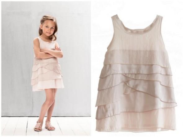 791ac4ea5a7 Smuk kjole til børn til bryllup som brudepige