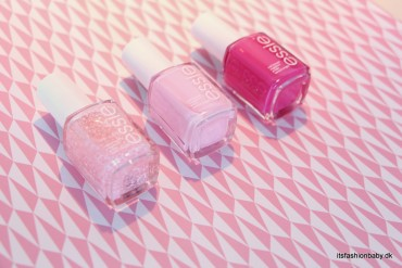 Essie Breast Cancer Awareness-kollektion pink happy i pink i can pinking about you