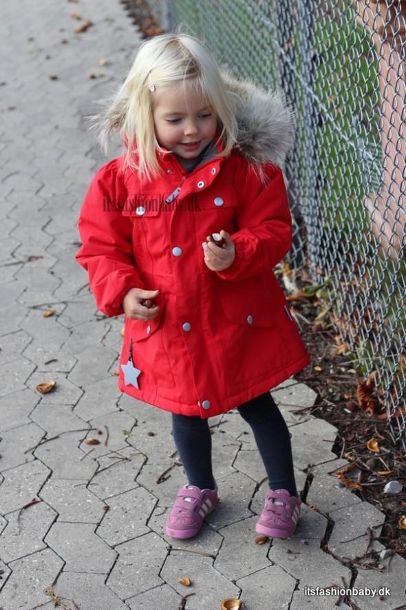 miniature vinterjakke pige