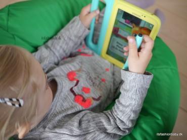 Anmeldelse og test af Samsung Galaxy Tab 3 Kids som er en tablet til børn.