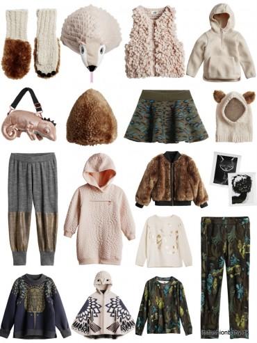 Smukt tøj til drenge fra H&M all for children kollektionen af børnetøj i oktober 2014