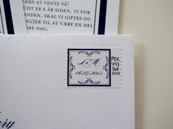 DIY guide til at lave dine egne personlige hjemmelavede frimærker til fx bryllupsinvitationer eller invitation til barnedåb