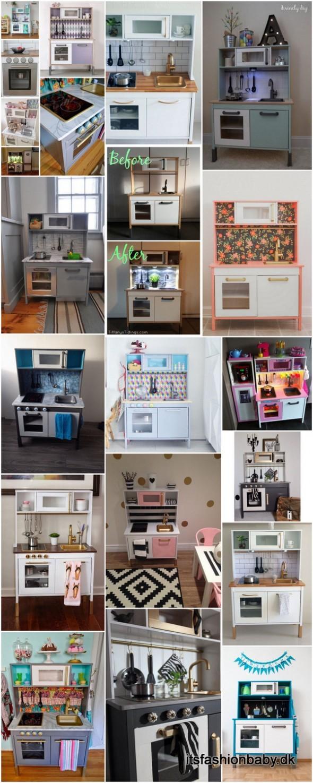 DIY guide til at male dit IKEA DUKTIG legekøkken