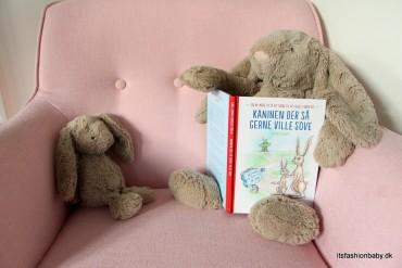 Anmeldelse af kaninen der så gerne ville sove bog