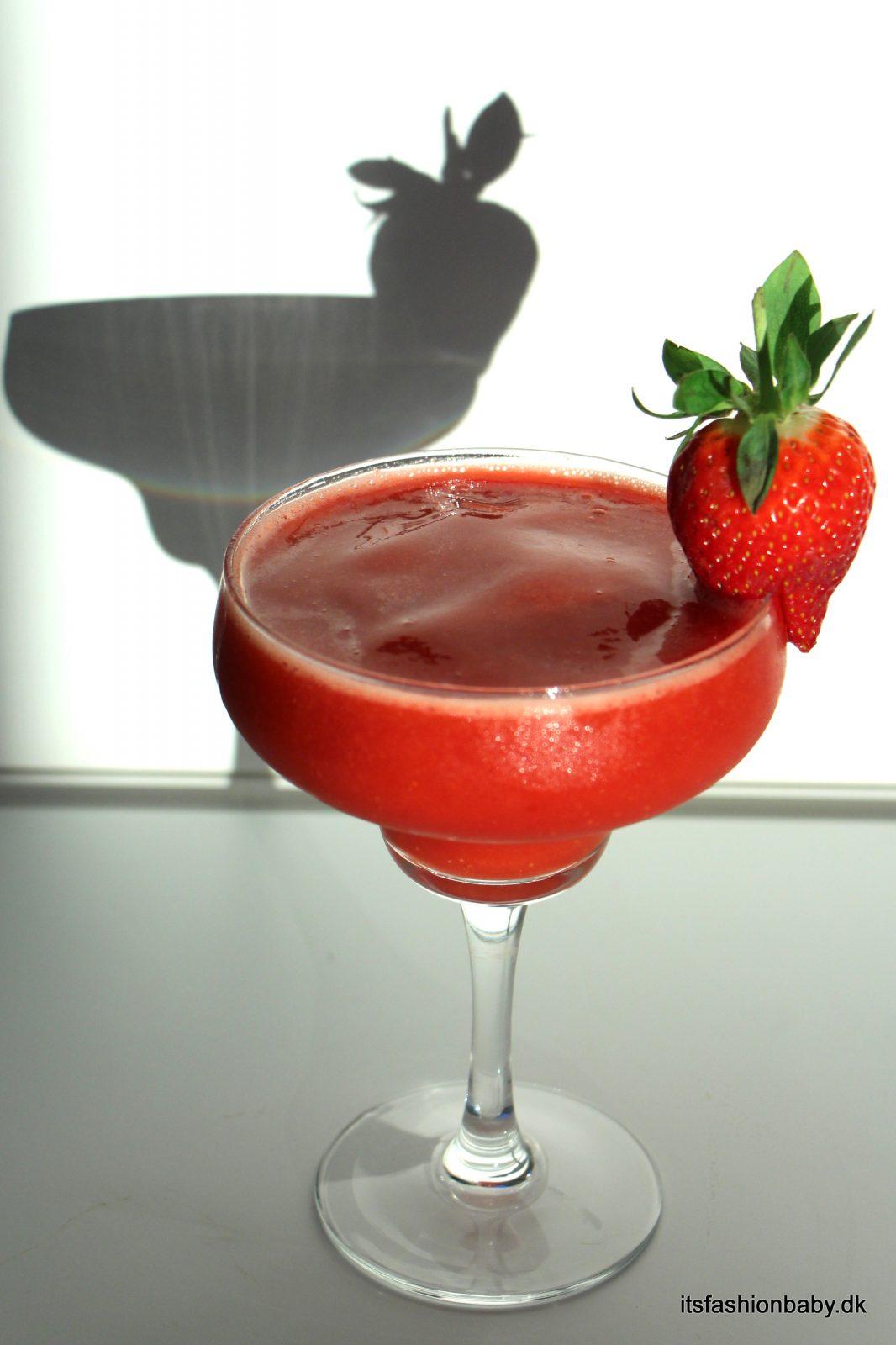 Alkoholfri strawberry daiquiry