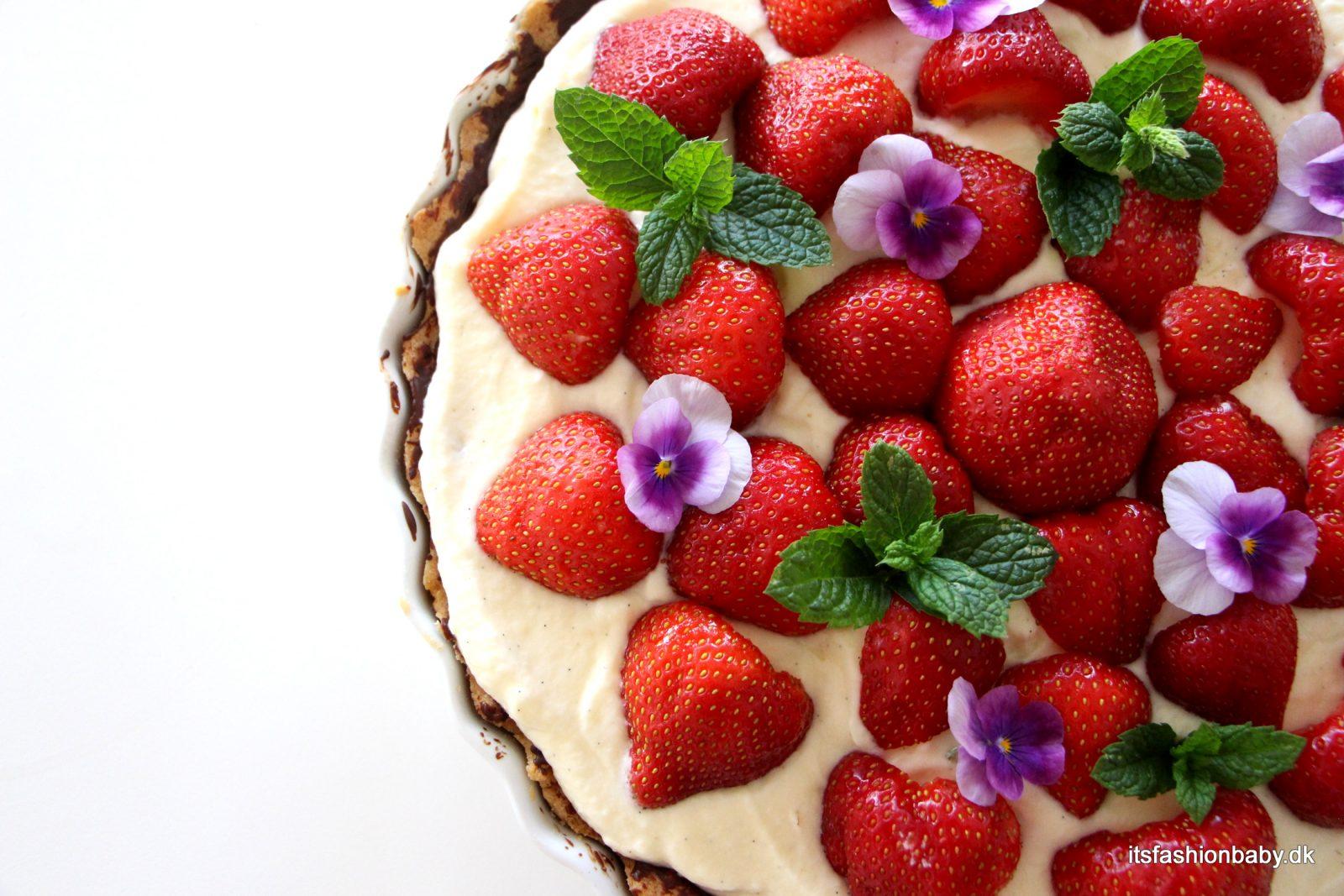 Alletiders Kogebog Jordbærtærte nem jordbærtærte | deli.exprud.se