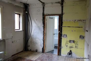 Status på vores byggeprojekt i huset