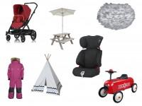 Store rabatter på børnetøj, legetøj, klapvogne, autostole, møbler mm.