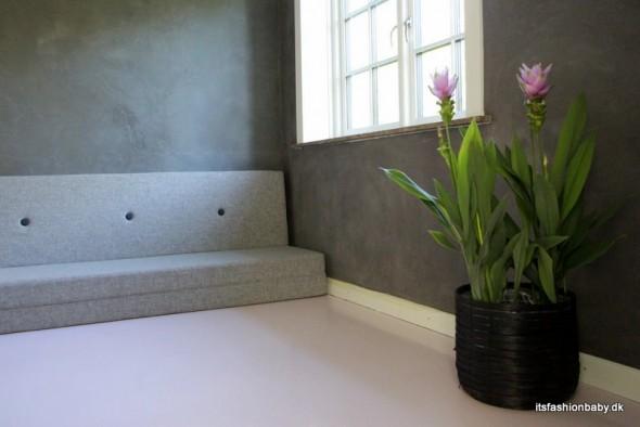 Kabe vægge og epoxygulv