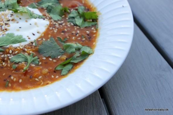 Opskrift på indisk linsesuppe