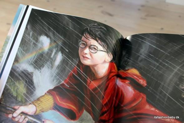 Boganmeldelse af Harry Potter og Hemmelighedernes Kammer illustreret udgave