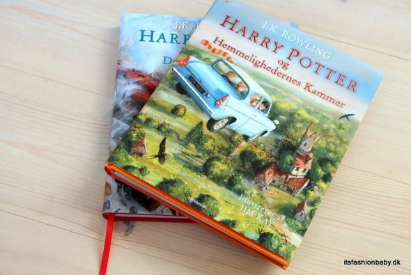 harry potter og de vises sten illustreret