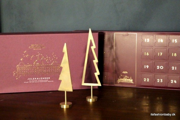 Chokoladejulekalender til voksne fra magasin