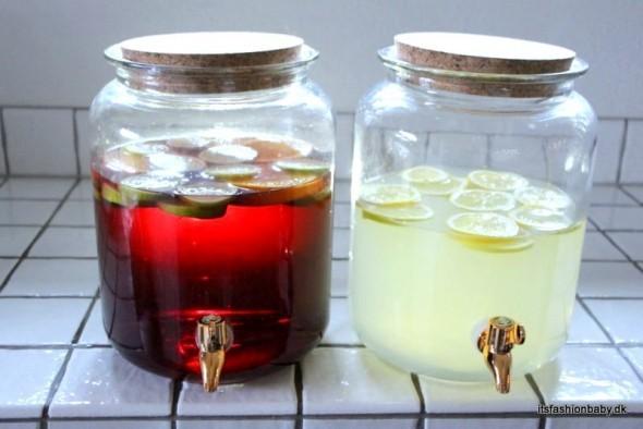 dispenser til cocktails med tappehane
