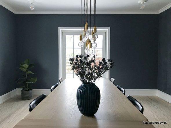 Billeder fra spisestuen med vores nye spisebord - Its Fashion, Baby!
