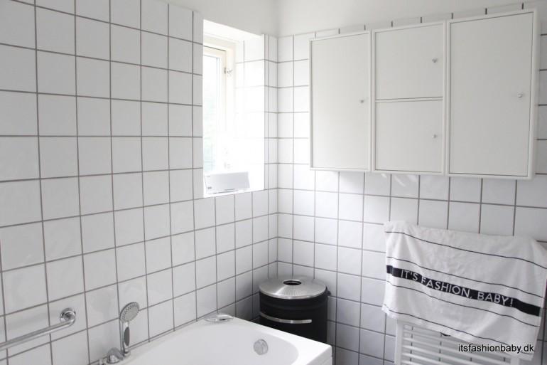 opfriskning af badeværelse