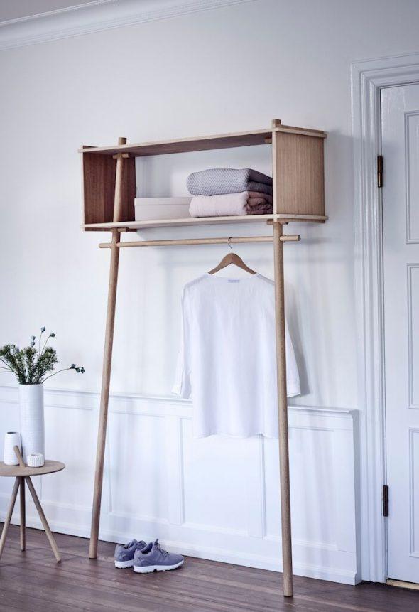 Vores smukke garderobemøbel på budget