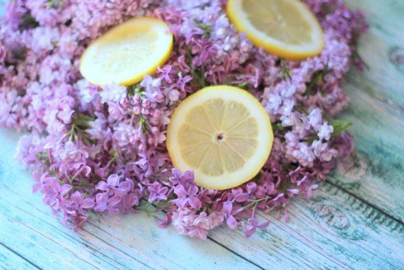 Citroner og syrener til saftevand