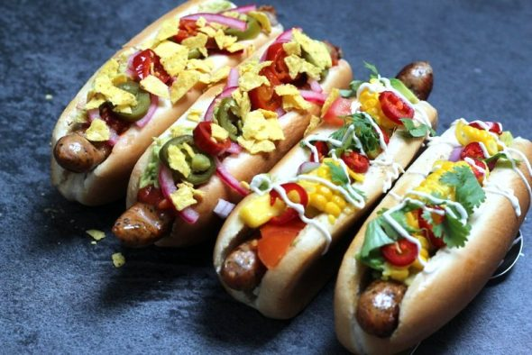 Opskrift på hjemmelavede hotdogs