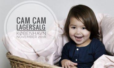 Cam Cam lagersalg københavn november 2018