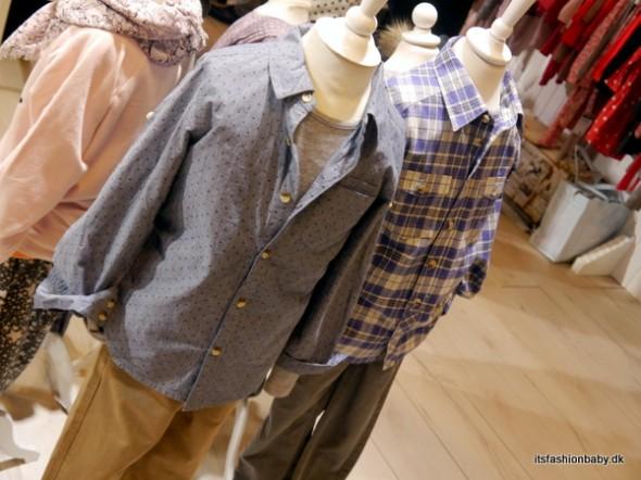 Skjorter med lidt mere modige mønstre end de klassiske små tern (jeg ELSKER den til venstre!)