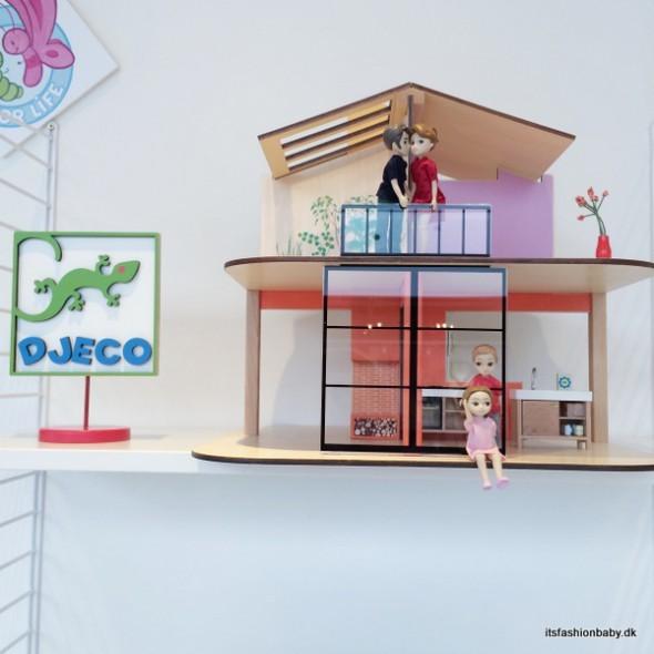 Dukkehuse i moderne look fra Djeco