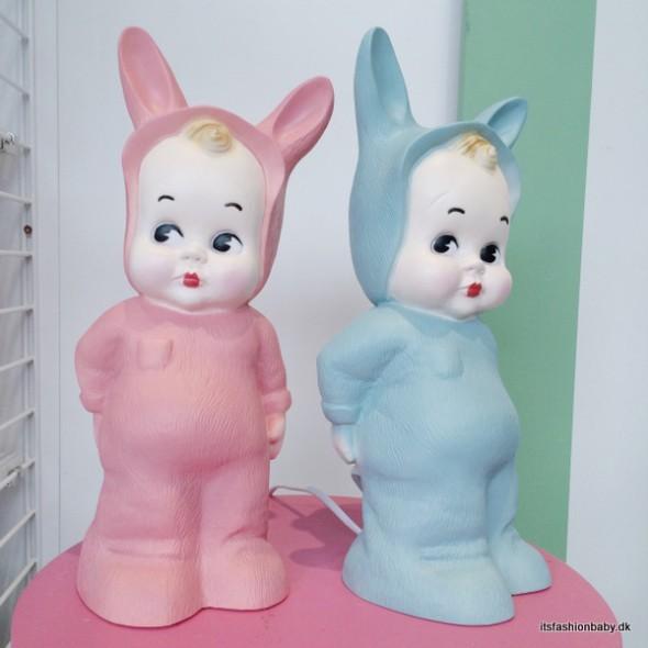 Lapin and me lampe fra Heico i reto look til børneværelset