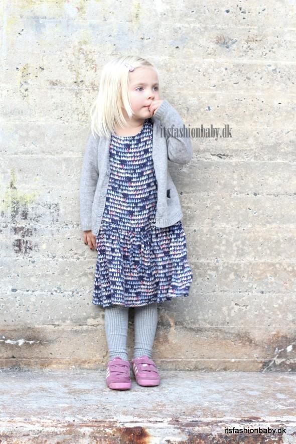 Flot blå mønstret kjole fra Wheat til AW14 med navnet Ester