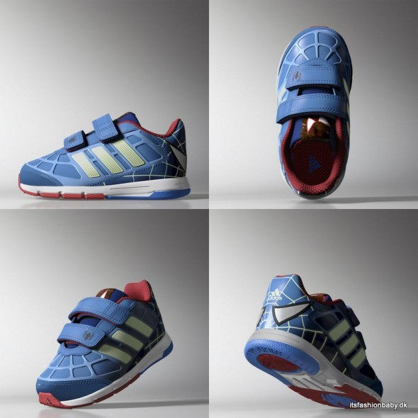 Adidas og Disney sneakers med Spiderman til drenge
