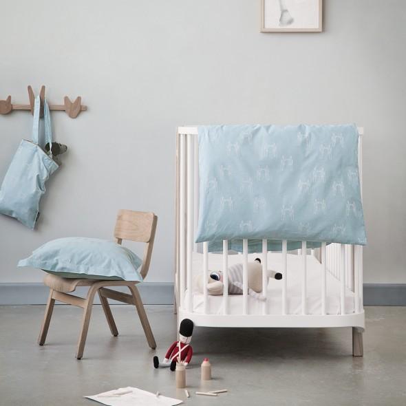 Georg Jensen Damask sengesæt og sengetøj til børn med HC Andersen motiver - fairytale