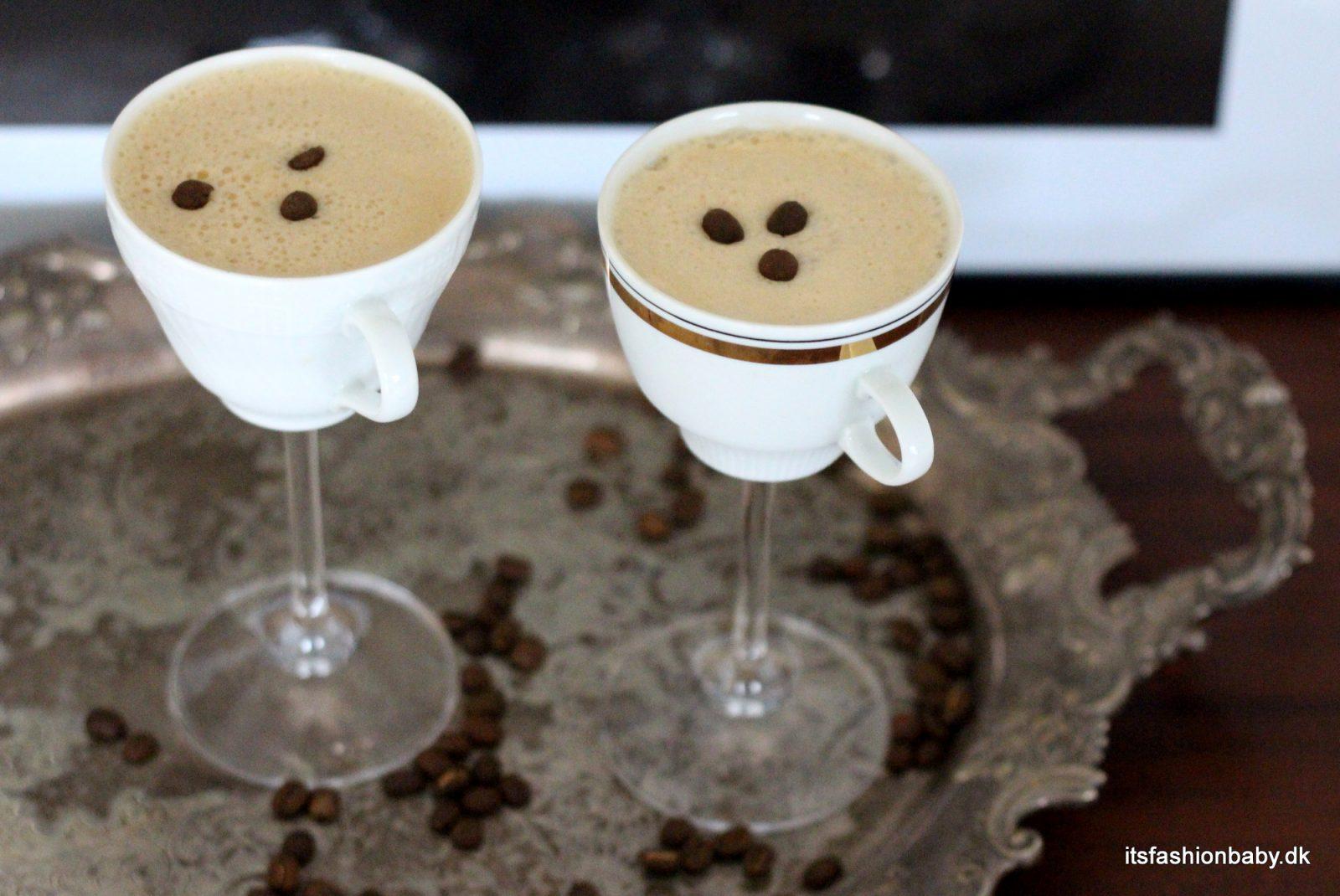 Opskrift på espresso martini