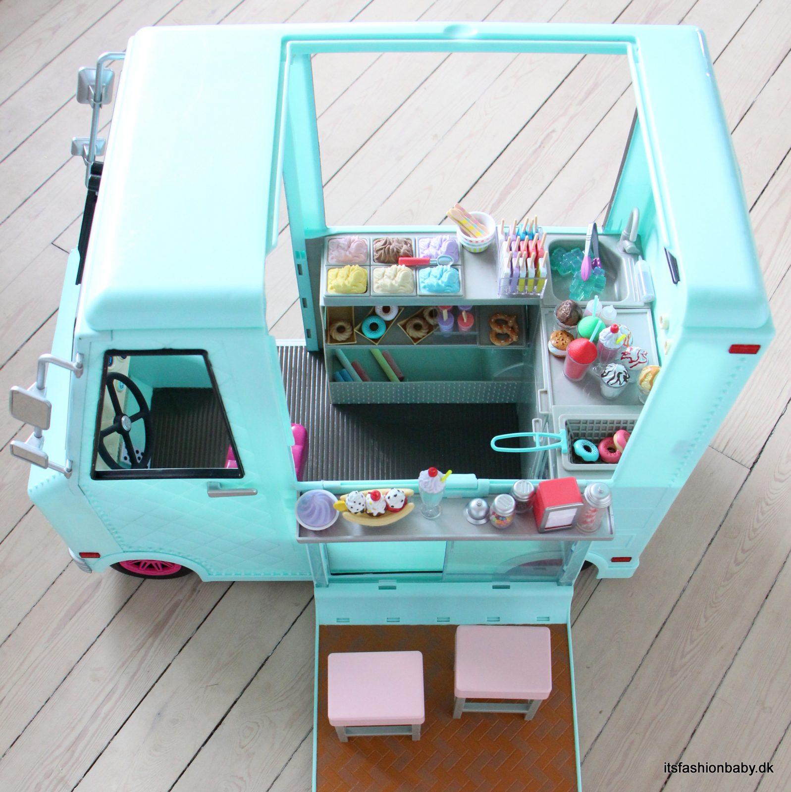 Isvogn til dukker fra Our Generation