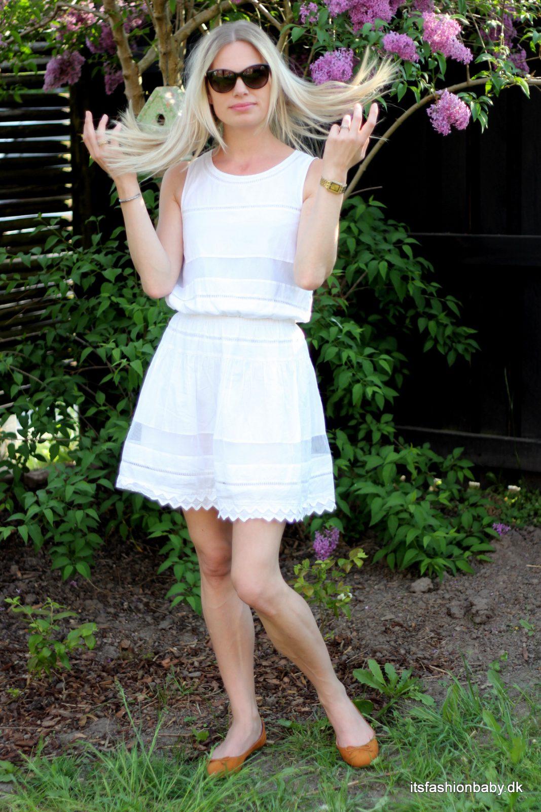 Hvid kjole fra Designers Remix