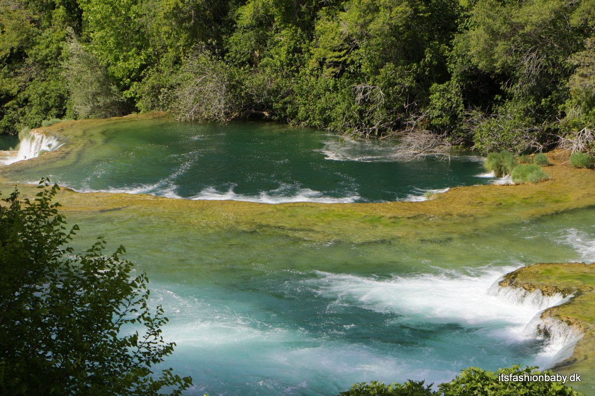 Nationalparken Krka i Kroatien
