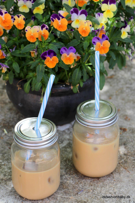 Opskrift på hjemmelavet iskaffe