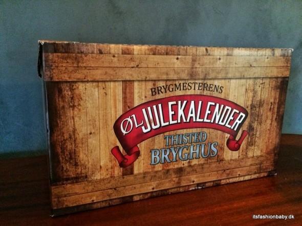 Brygmesterens pakkekalender øl julekalender fra Thisted Bryghus