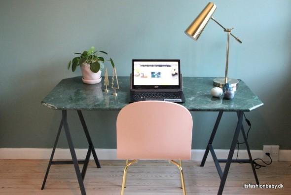 Flot skrivebordsstol til skrivebord og kontor