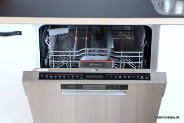 Zeolith opvaskemaskine fra Bosch