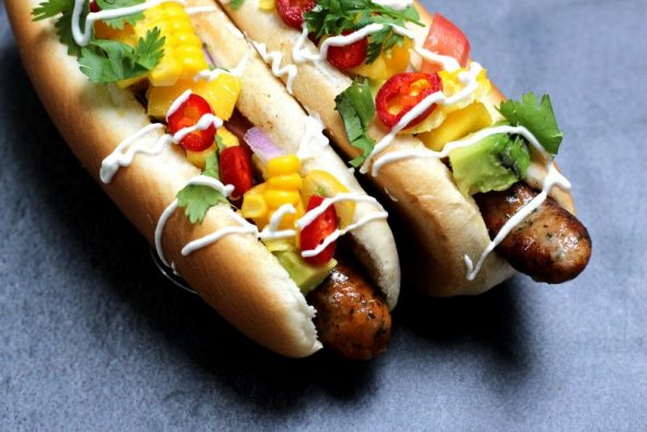 God opskrift på lækre hotdogs