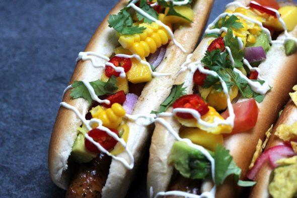 Opskrift på lækre mexicanske hotdogs