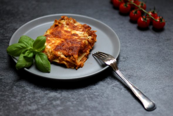hurtig lasagne opskrift