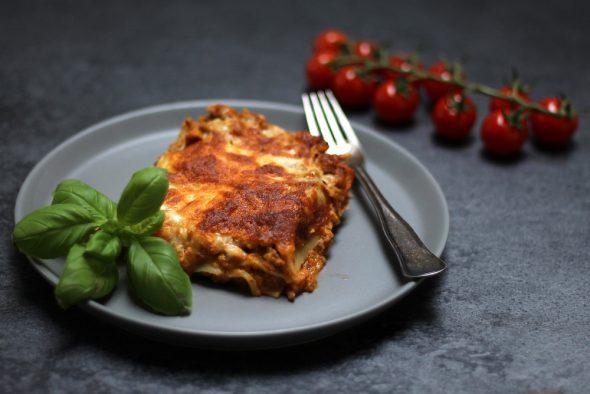 opskrift på lækker hjemmelavet lasagne