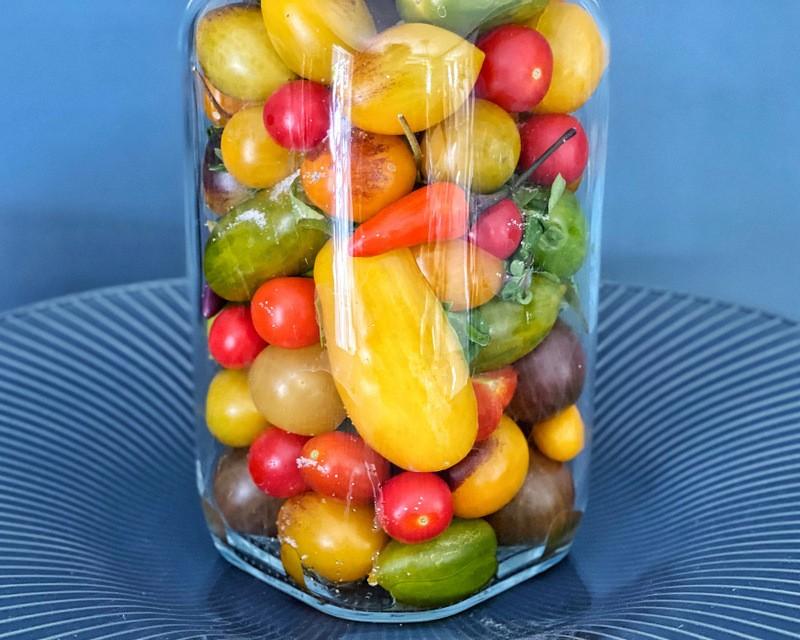 opskrift på henkogte tomater