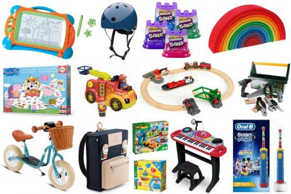gaveidéer til dreng og pige og 2 årige børn