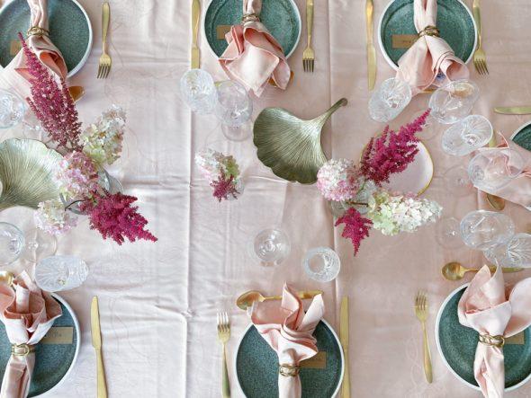 kähler hammershøi poppy dug servietter lyserød